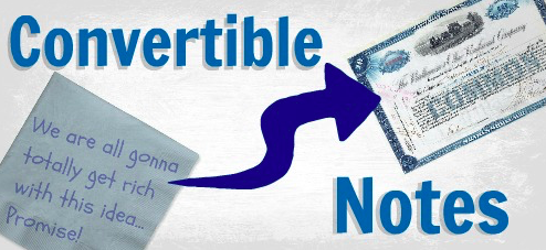 What is a convertible note
